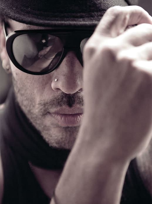 Lenny Kravitz – Blendend gelaunt