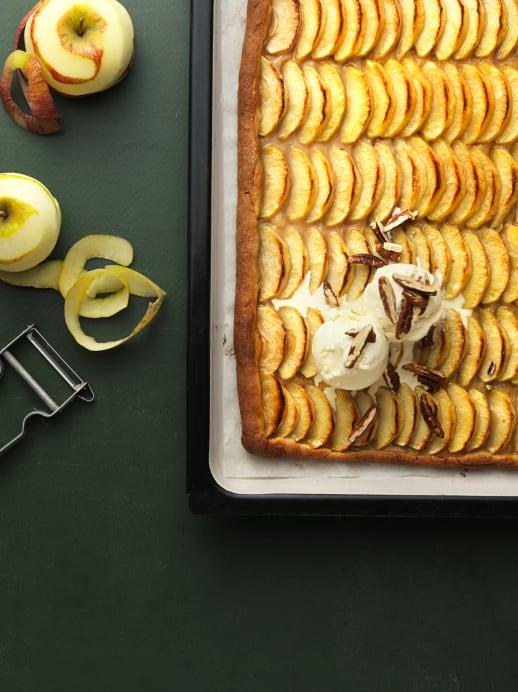 Süsses Rezept: Der pure Apfelkuchen