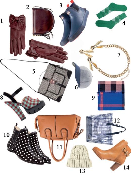 Und noch mehr Accessoires: Boots & Bags und angesagte Looks
