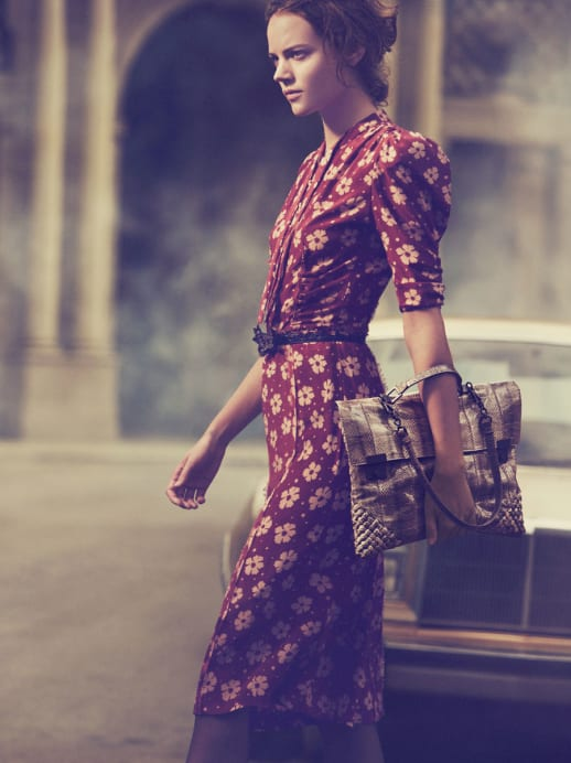 Werbekampagne von Bottega Veneta mit Peter Lindbergh