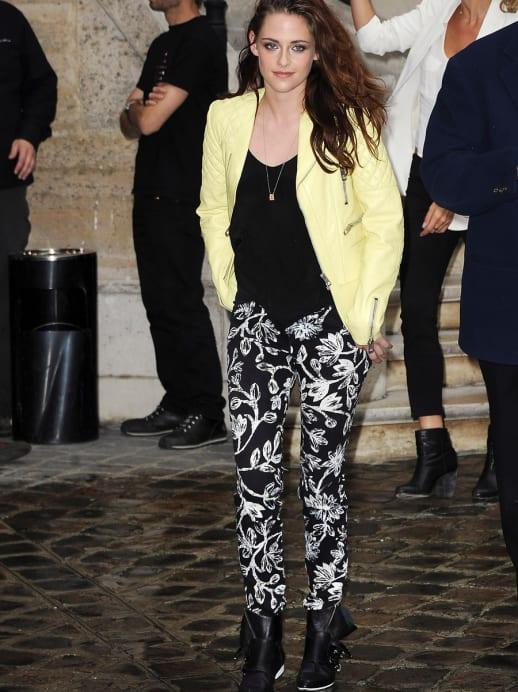 Wow: Konfetti-Blütenregen an der Pariser Fashion Week und Kristen Stewart bei Balenciaga