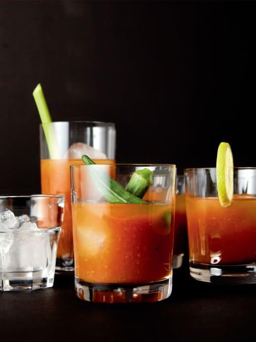 Rezept für Bloody Mary: Kater-Killer Tomaten