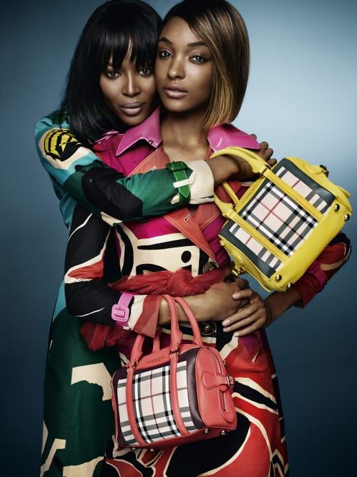 Naomi Campbell und Jourdan Dunn sind die neuen Burberry-Models