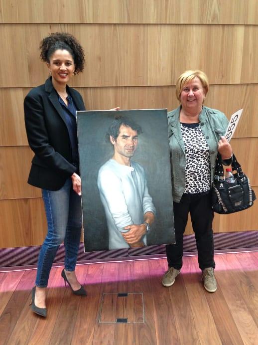 Roger-Federer-Porträt unter dem Hammer: Das ist die Besitzerin