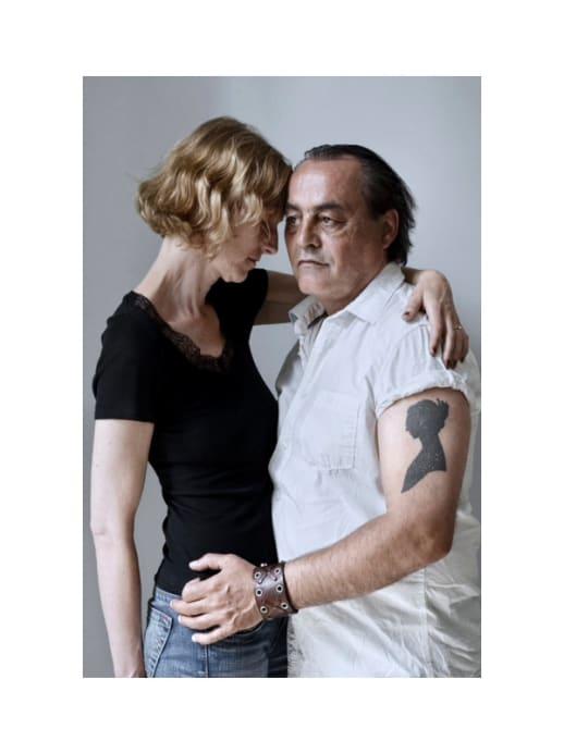 London National Portrait Gallery: Porträtbild von Paar aus Zug