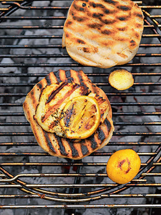 Grill-Rezept: Haloumi, grillierter Käse
