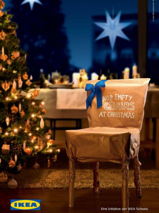 No Empty Chairs: Mit Ikea gegen die Einsamkeit an Weihnachten