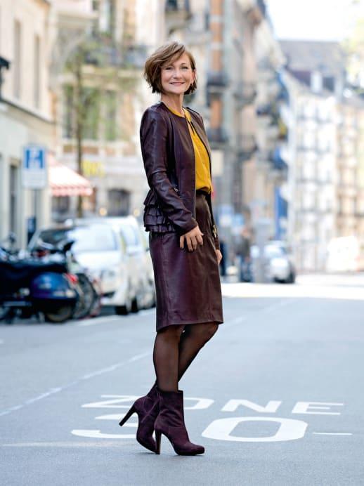 Ein neuer Look für Silvia Fettik: Das Leben ist schön