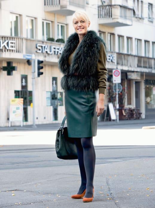 Ein neuer Look für Manuela van Ulzen: Glamourös an den Start