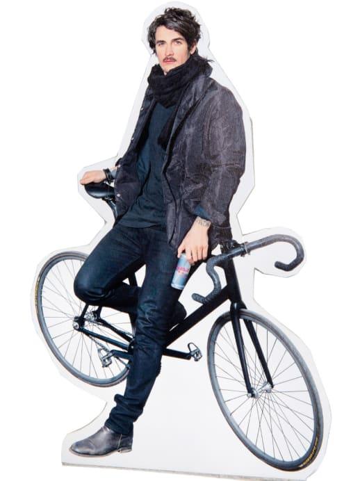 Velo-Welt: Patrick Seabase liebt sein Fixie-Bike