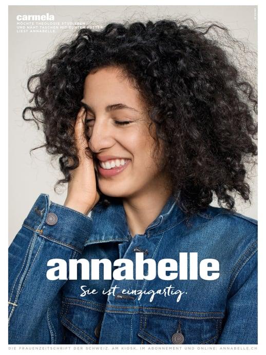 Die Gesichter der neuen annabelle-Werbekampagne: Carmela Bonomi