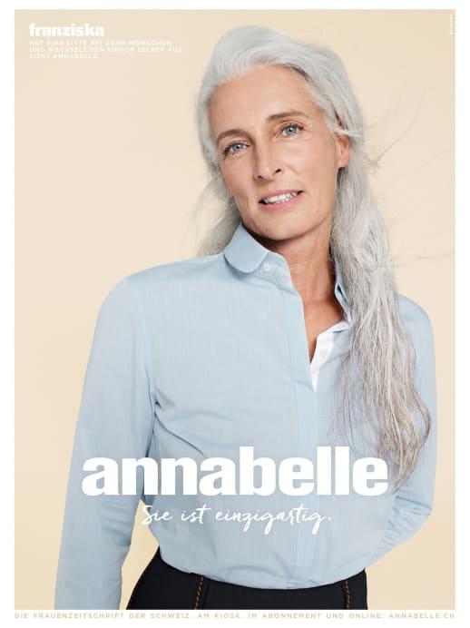 Die Gesichter der neuen annabelle-Werbekampagne: Franziska Grob
