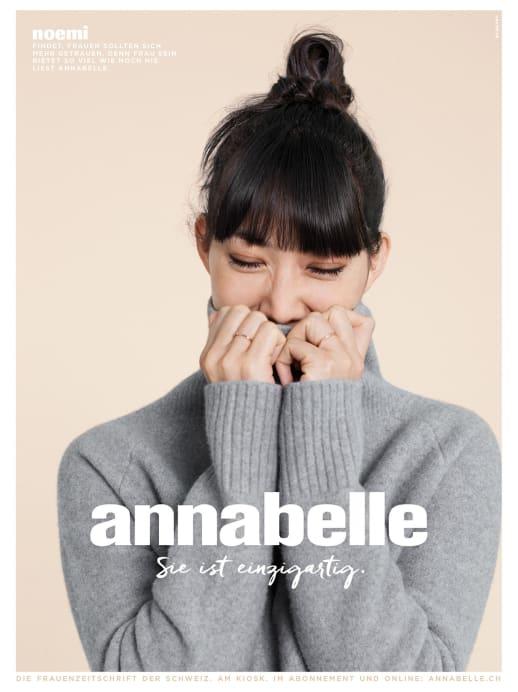 Die Gesichter der neuen annabelle-Werbekampagne: Noemi Schmid