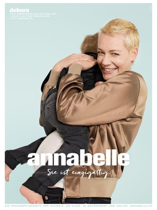 Die Gesichter der neuen annabelle-Werbekampagne: Debora Wyden