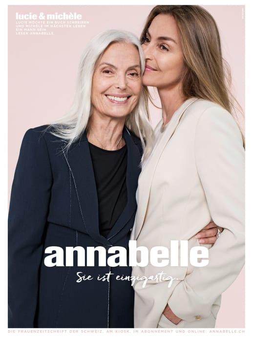 Die Gesichter der neuen annabelle-Werbekampagne: Lucie und Michèle