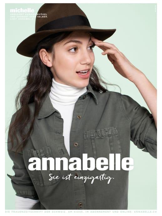 Die Gesichter der neuen Werbekampagne: Michelle Steinbeck