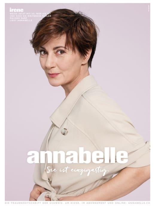 Die Gesichter der neuen annabelle-Werbekampagne: Irene Godel