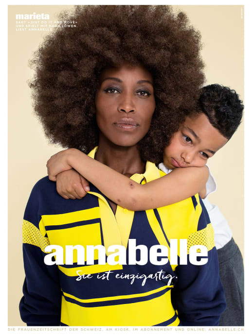 Die Gesichter der neuen annabelle-Werbekampagne: Marieta Kiptalam Chemeli