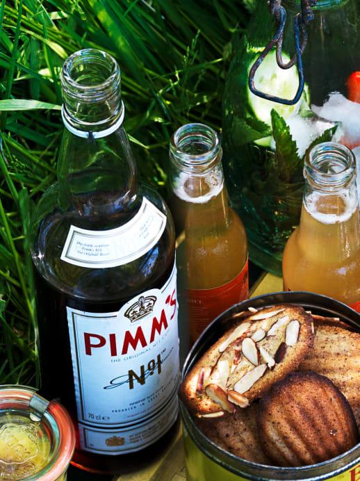 Fruchtiges Cocktail-Rezept: Pimm's Cup