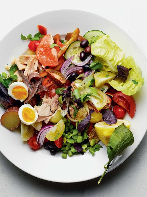 Rezept für Salade niçoise: Ein Klassiker aus der französischen Küche
