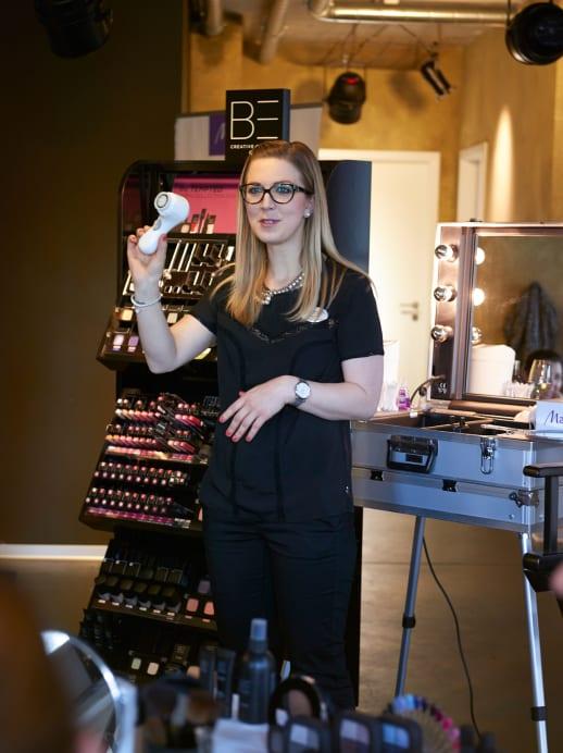Die Bilder zum Schmink-Workshop mit Be Creative Make Up