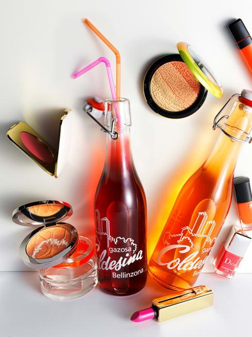 Sommer Make-up 2015: Trendfarben Pink und Orange
