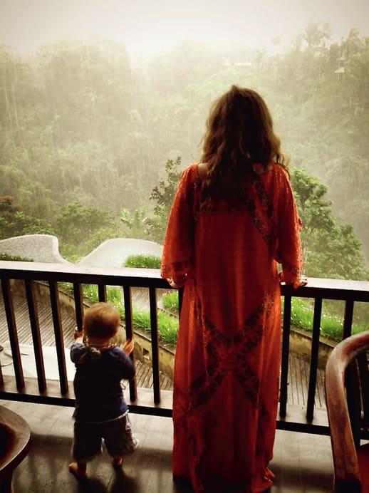 Schöne Grüsse aus Bali: Reisen mit Kleinkind