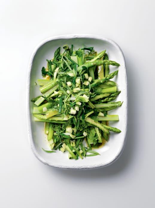 Rezept für Spargelsalat mit Kräutern