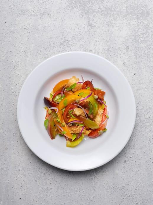 Brotsalat: Rezept für Panzanella