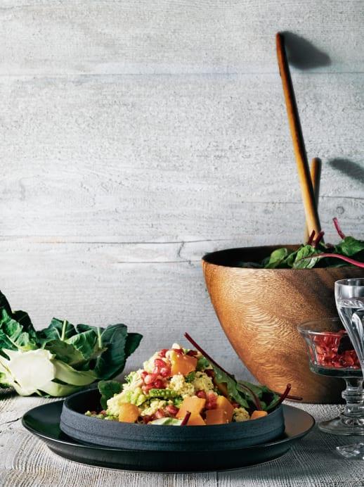 Rezept für Hirsesalat mit Granatapfel