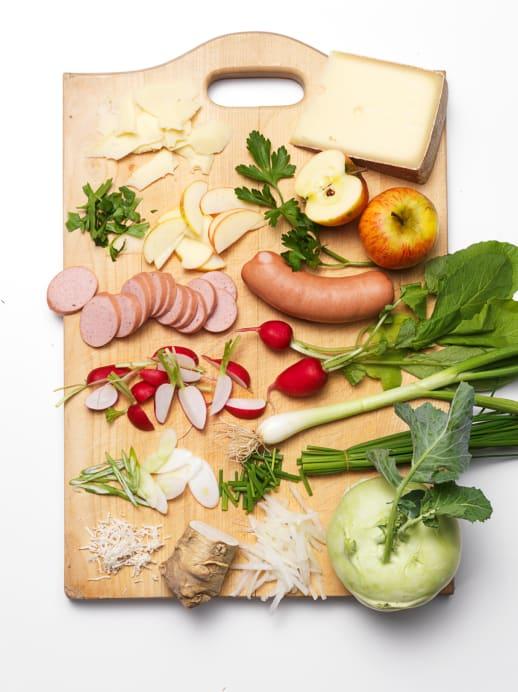 Rezept für Wurstsalat Spezial
