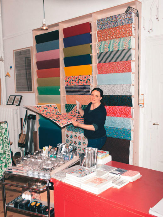 Die Selbstständigkeit hat ihren Preis: Vera Daucher mit Papeterie Daucher