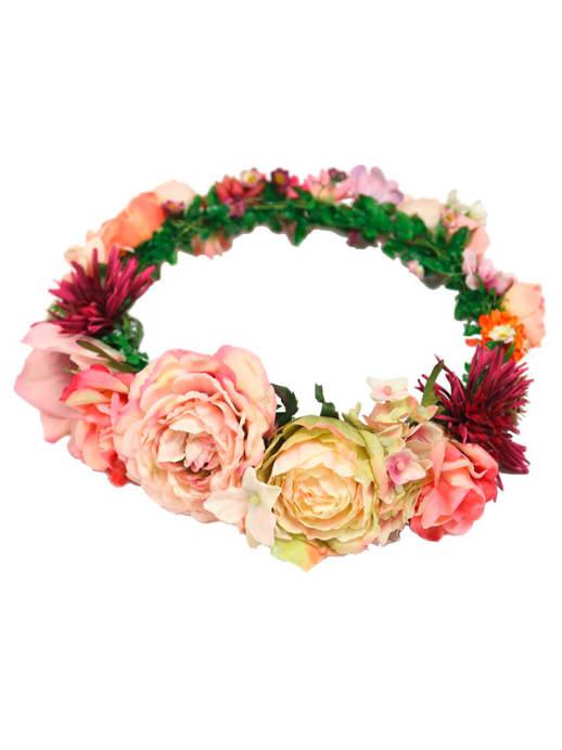Flower Power: Blumenkränze im Haar