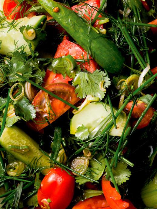 Chopped Salad: Das Rezept für einen Bauernsalat