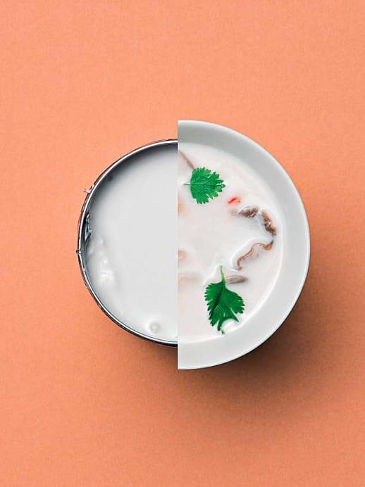 Exotik aus der Dose: Tom Kha Suppe mit Kokosmilch