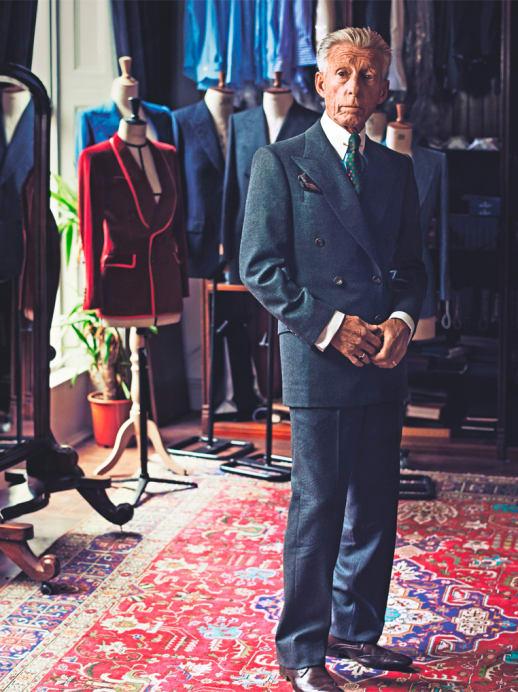 Edward Sexton: Der legendäre Starschneider im Interview