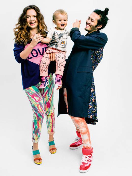 We are Family: Das annabelle Familien-Shooting mit Fotograf Glenn Glasser
