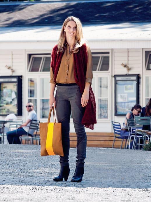 Ein neuer Look für Toya Enzler: Herbsttöne