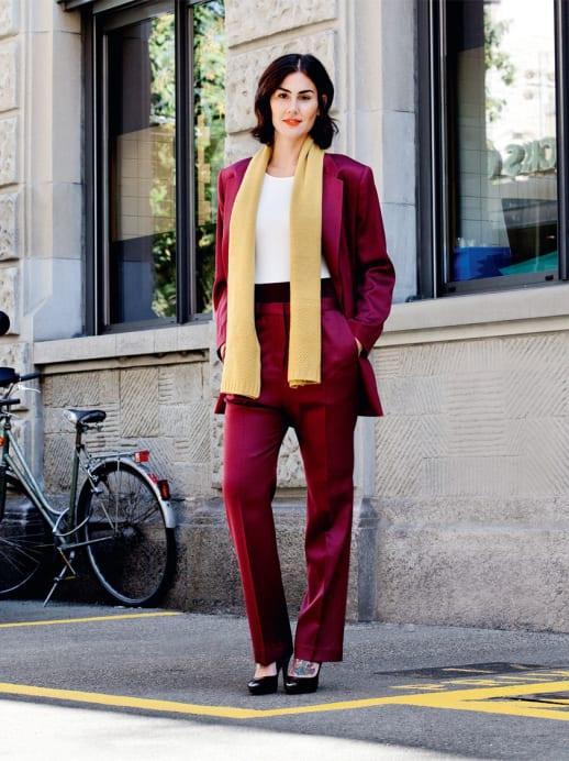 Ein neuer Look für Tanya Ramstöck-Worring: Business in Bordeaux