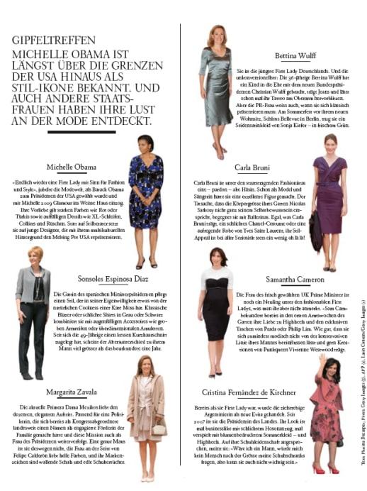 Stil-Ikonen: Gipfeltreffen der First Ladies