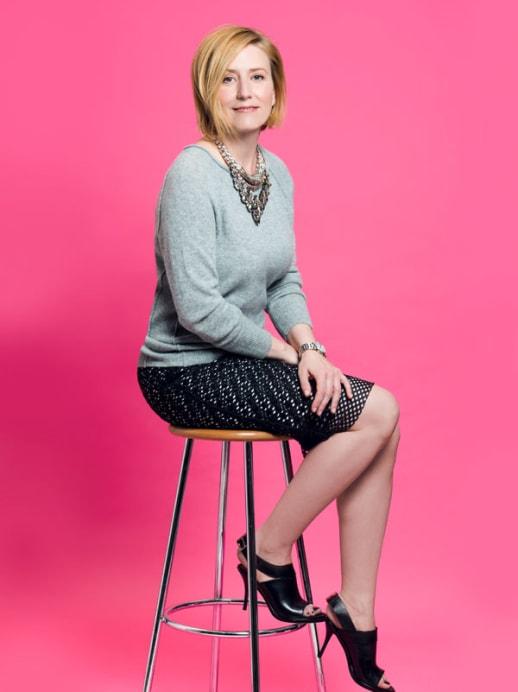 Ein neuer Look für Barbara Schär: Betont weiblich