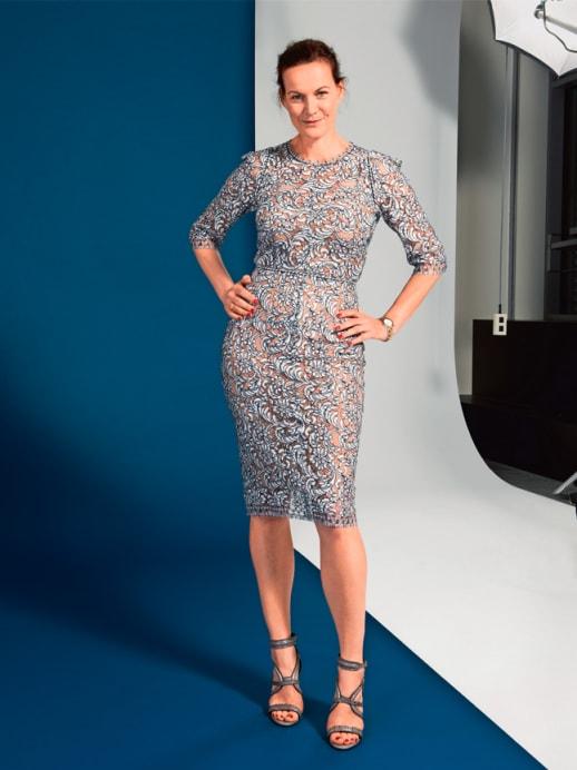 Ein neuer Look für Petra Eberle: Dezent im Trend