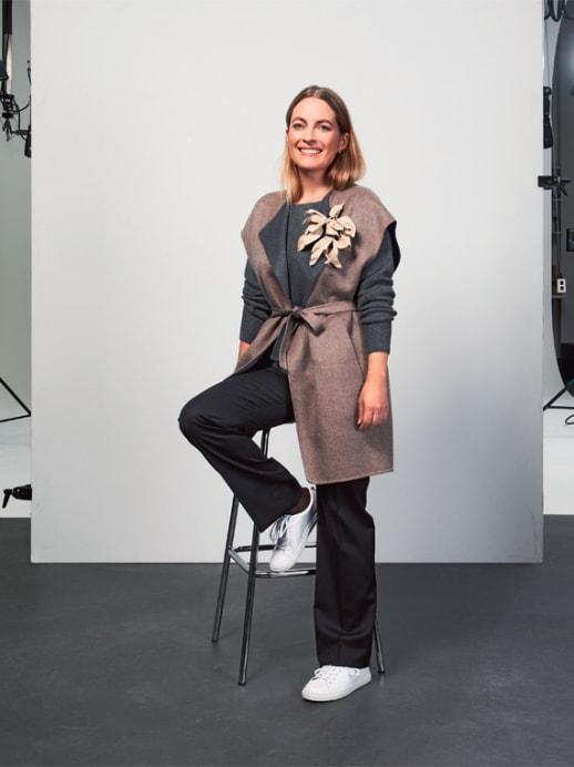 Ein neuer Look für Amanda Schmid: Apart Ämbrüf