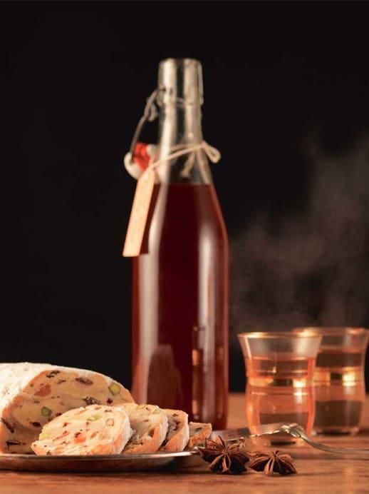 Wärmender Punsch: Rezept für Earl-Grey-Gewürz-Sirup