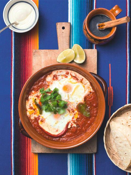 Frühstück in Mexiko: Rezept für Huevos Rancheros