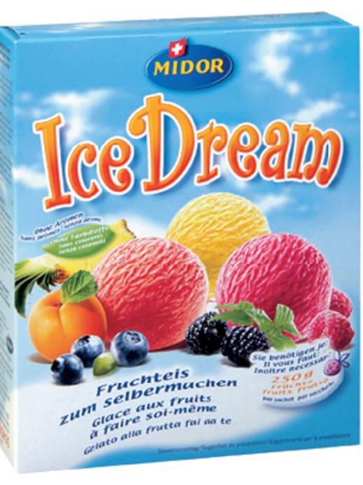 Ice Dream: Crèmiges Fruchtglace aus dem Beutel