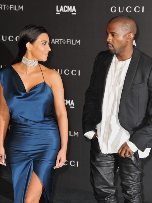 Fashion Weekly: Kim, Kanye und die Scheidungsparty im Balenciaga Hochzeitkleid