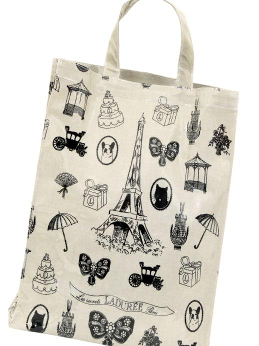 Süss und praktisch: Shopping-Bags von Ladurée