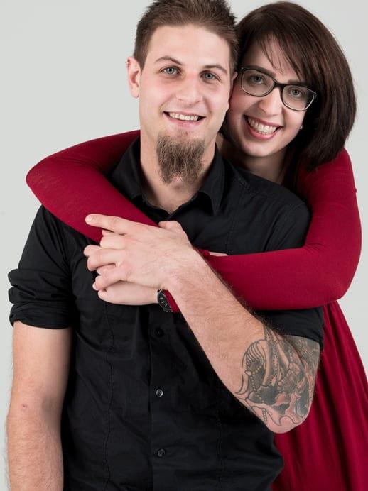 Lovestory: Nadja und Philipp