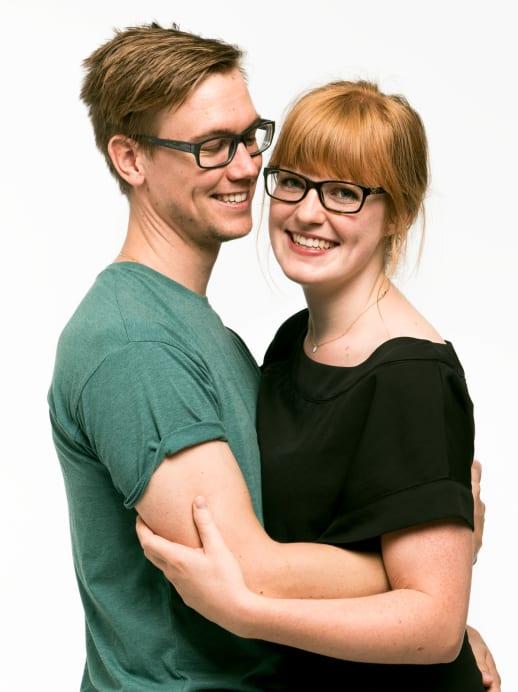 Lovestory: Chantal und Matthias